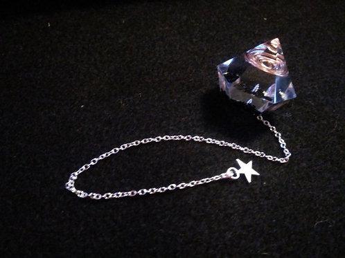 """Pendule cristal """"spirale"""""""