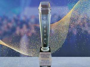 SPRD wins Crystal for the 'Best Use of Content' at the 14th PRCI Excellence Awards!