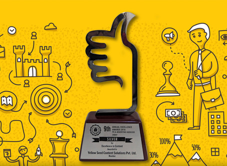 Yellow Seed Bags the Excellence in Content Award at PRCI
