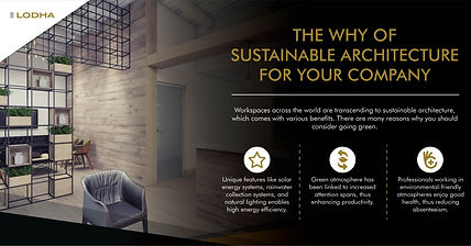 The Why of Sustainable Architecture for