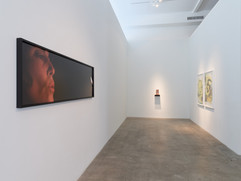 Installation view: First gallery (narthex)