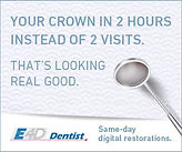 Fremont NE Dentist crowns same day