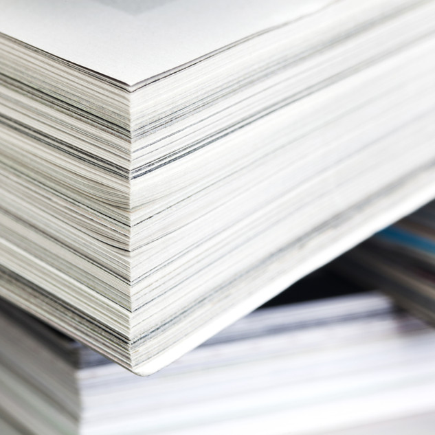 Wood free offset paper