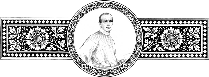 Figura representativa do Beato Gaspar Stanggassinger