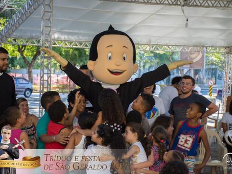 Tarde de sábado dedicada às crianças