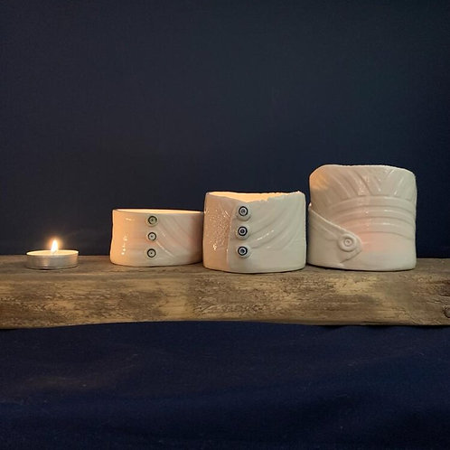 Clay at Home Kit (porcelain tea lights) ready for pre-order