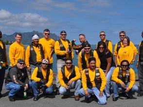 Harley Davidsons, Veterans, and America!