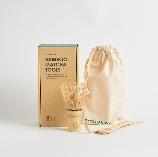Bamboo Matcha Tools