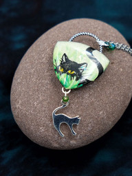 Sneaky Cat Necklace