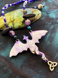 Misty Forest Dragon Necklace