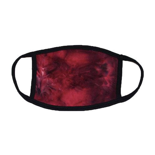 Fuchsia Tie Dye Face Masks