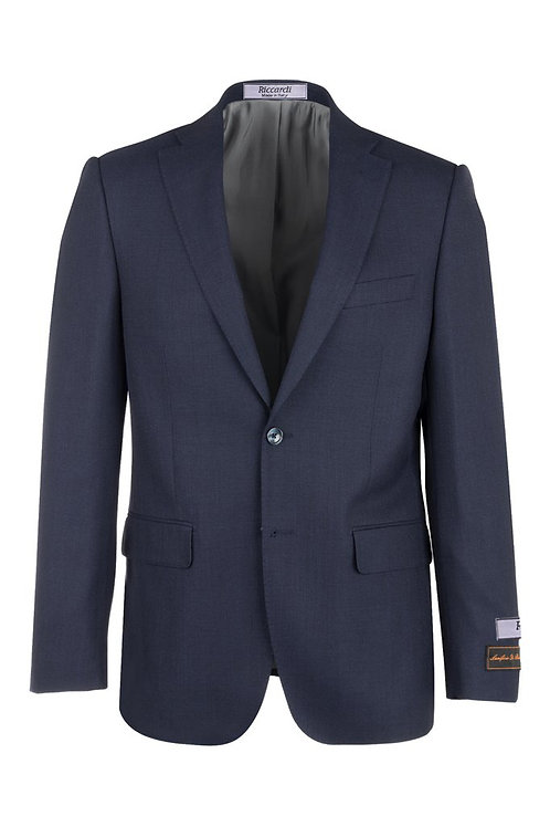 Midnight Blue Modern Fit, Pure Wool Jacket T10.712/374