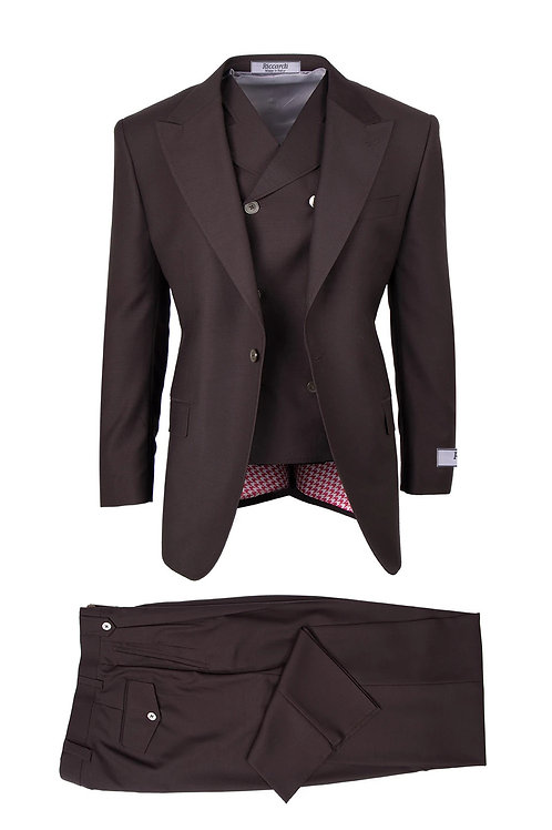 San Giovesse , Pure Wool, Wide Leg S&V by Riccardi Clothier RIC1003