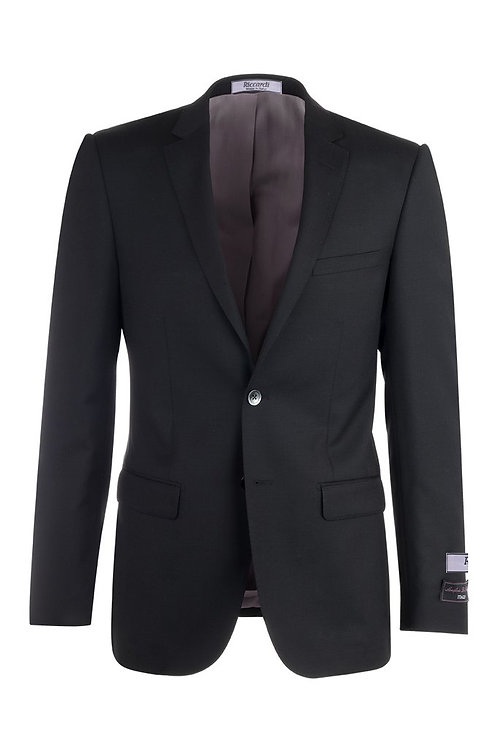 Navy Blue Slim Fit, Pure Wool Jacket TS4132/2