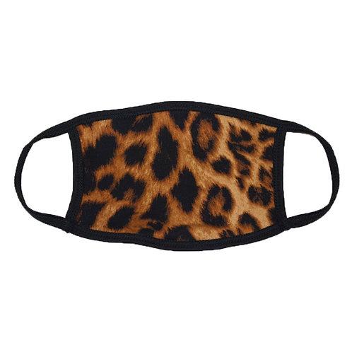 Cheetah Face Mask