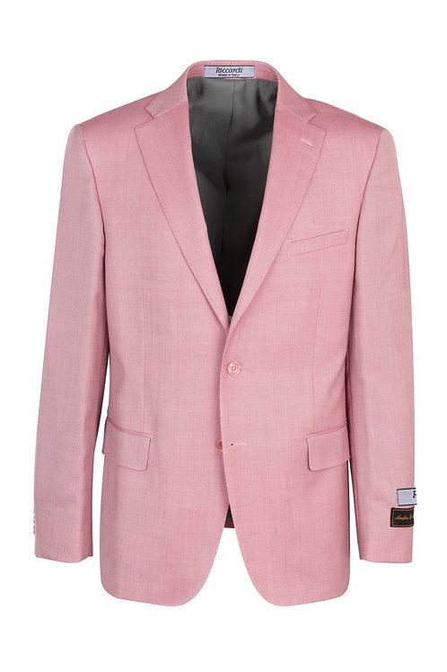 Pink, Modern Fit, Pure Wool Jacket TS6093/1