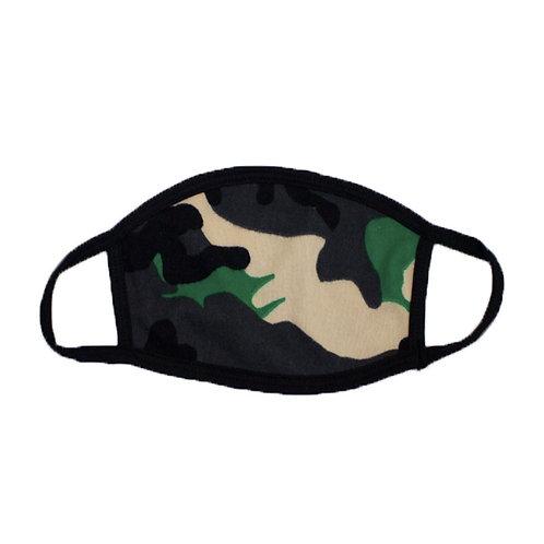 Irish Green Camouflage Face Mask