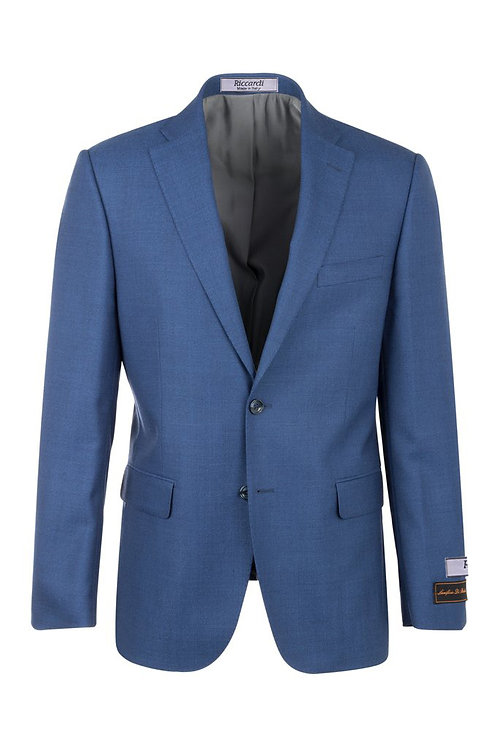 Dolcetto French Blue Modern Fit, Pure Wool Jacket RS5425/2