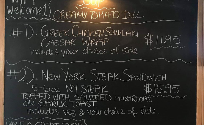 Example of a lunch special