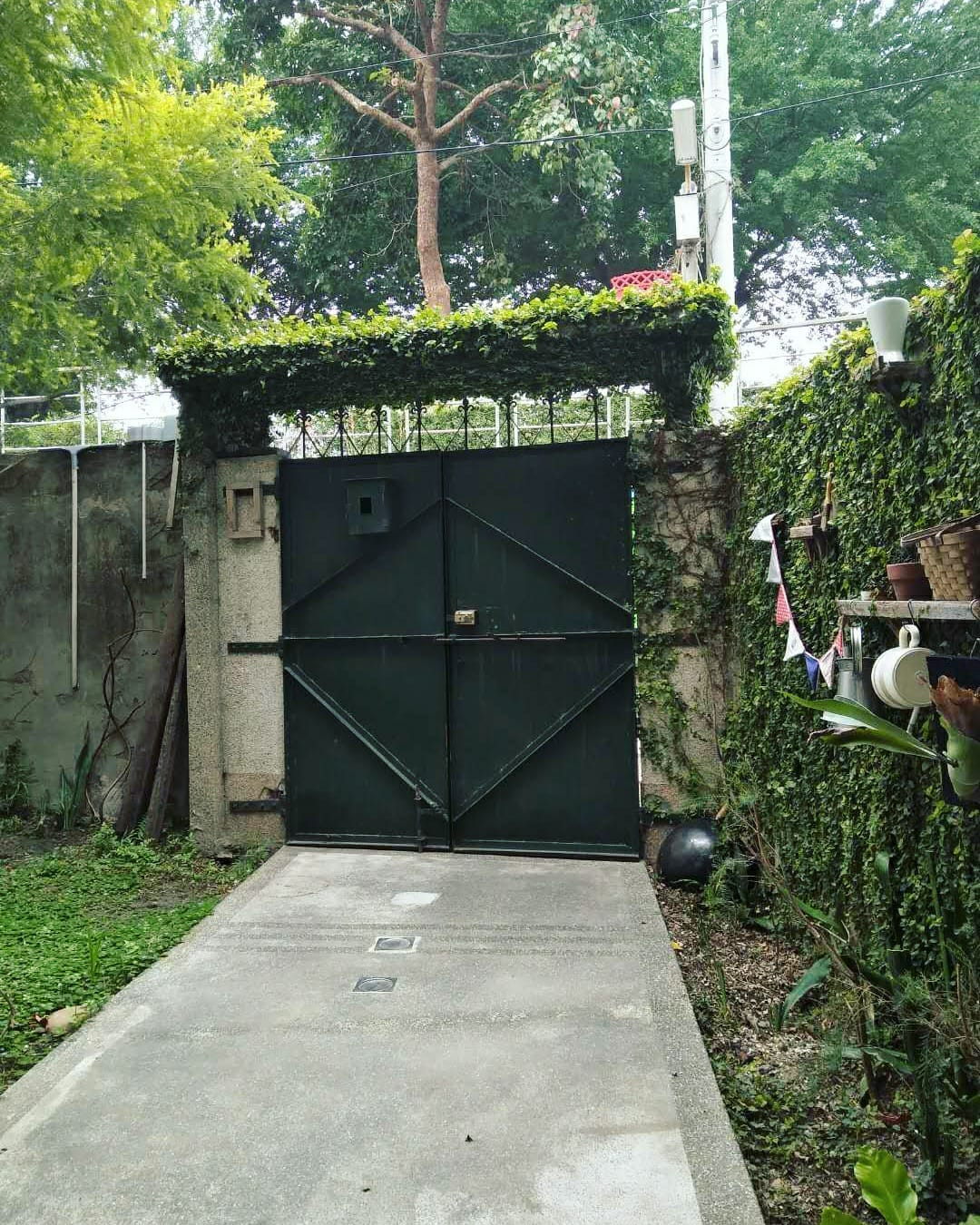 Garden and gate