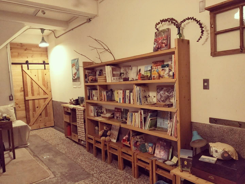 Living Room- DIY book self