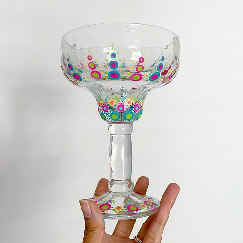 Fiesta Margarita Glass