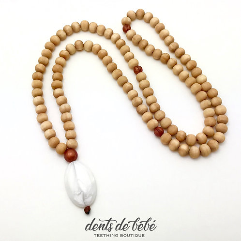 Mala Teething Necklace