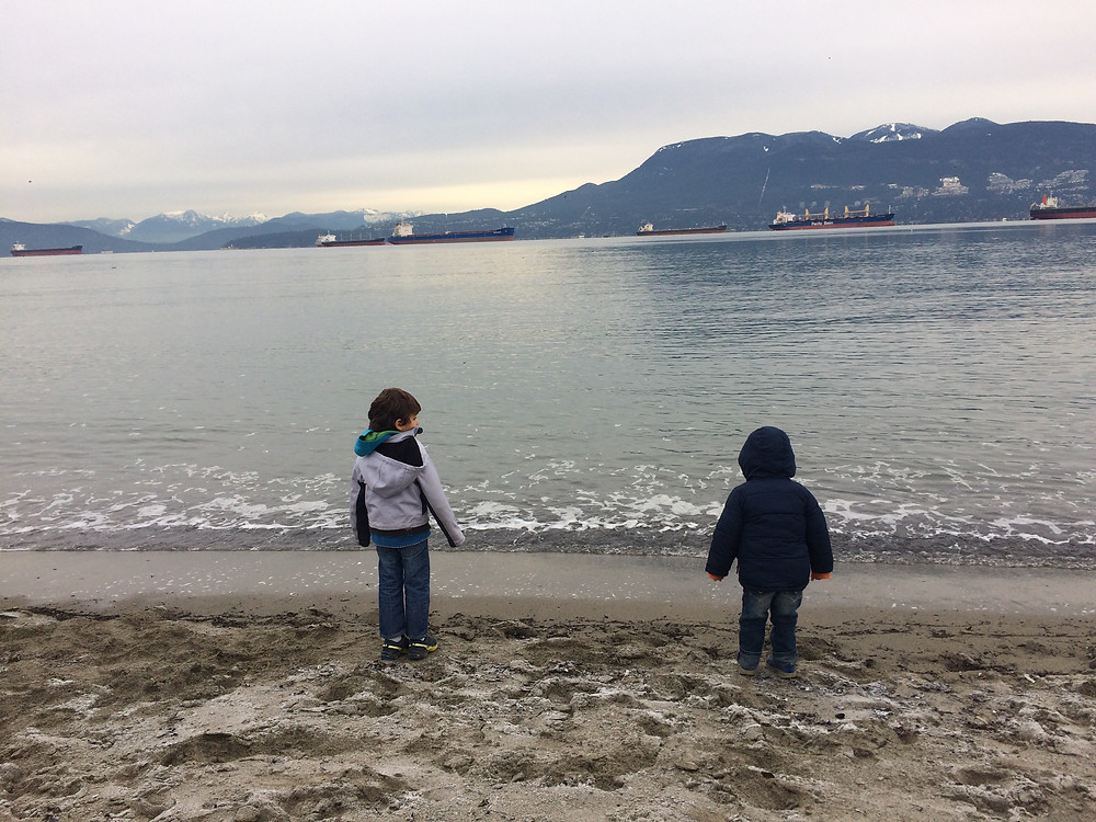 Jericho Beach-Foreshore Trail-PNW Kids