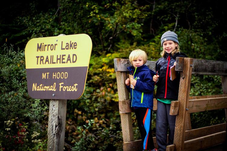 Mirror Lake-PNW Kids