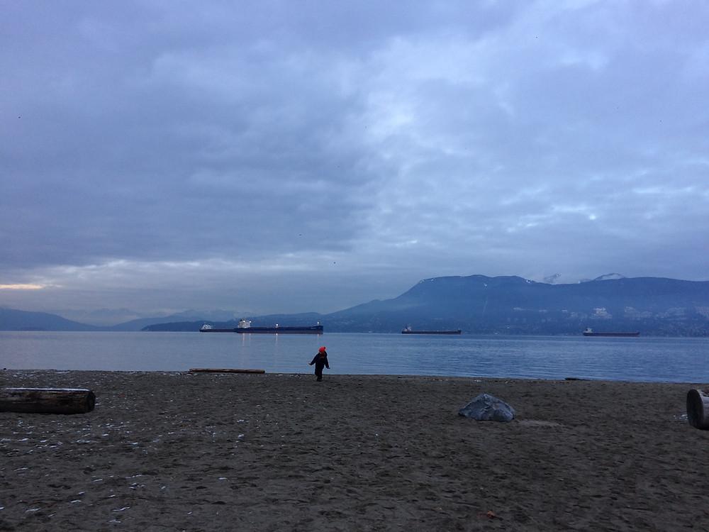 Jericho Beach-Foreshore Trail-Vancouver, B.C.