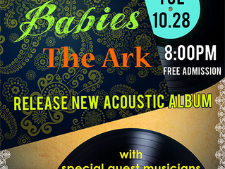 We Are Gonna Release New Album at The Ark TUE OCT 28TH!!