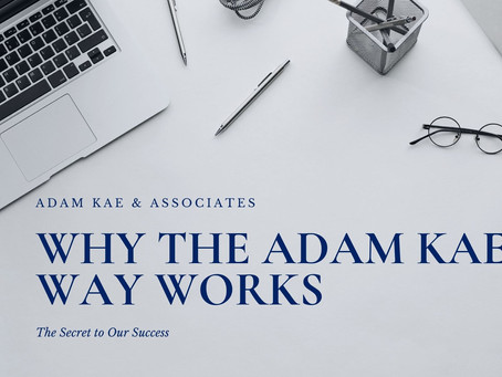 Why the Adam Kae Way Works