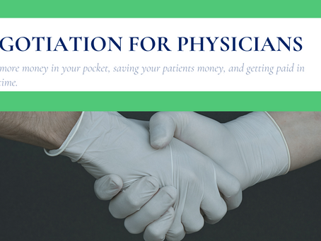 Negotiation for Physicians