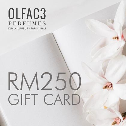 RM250 Gift Card