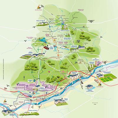 visiter la region - Touraine Nature - Gite Avrille-les-Ponceaux