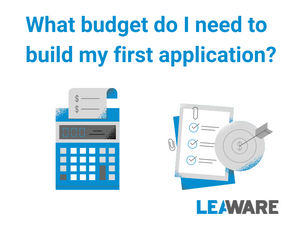What budget do I need to build my application?