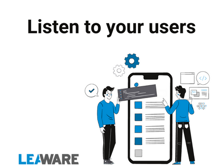 App development: listen to your users!
