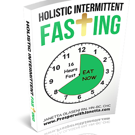 Holistic Intermittent Fasting EBook Instant Download