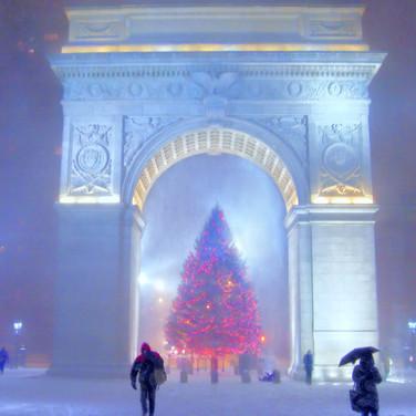 Washington Square Arch Christmas