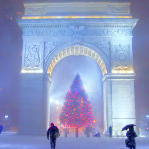 Washington Square Arch Christmas