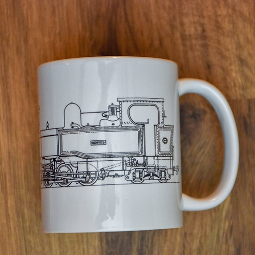 Gowrie Mug -  Line Drawing
