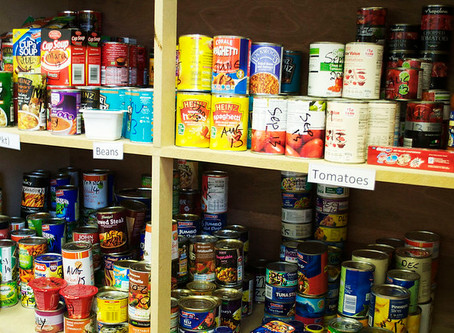 How to donate to a food bank in Shropshire