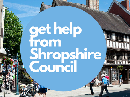 Get help from Shropshire Council