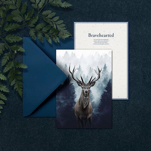 BRAVEHEARTED - A5 wenskaart met envelop
