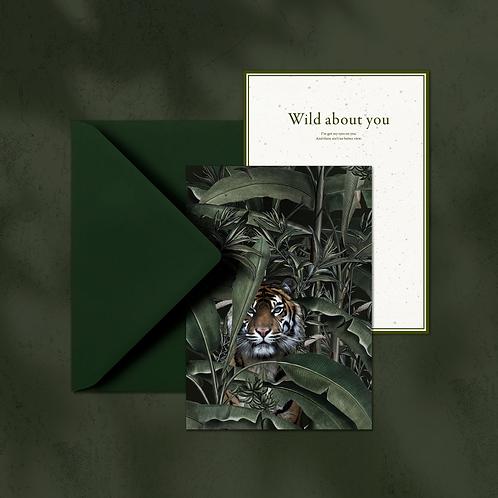 WILD - A5 card with envelop