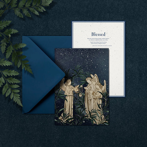 BLESSED - A5 card with envelop