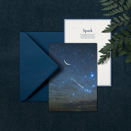 SPARK  - A5 card with envelop