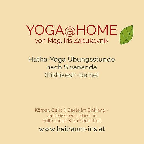 YOGA@HOME von Iris Zabukovnik