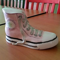 Pottery High top shoe