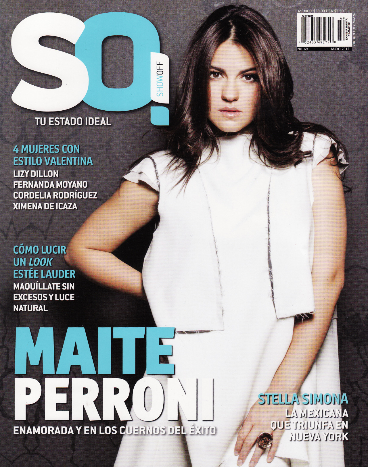 Portada Maite Perroni Revista SO